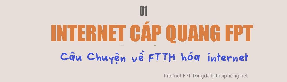 Lắp mạng Internet FTTH